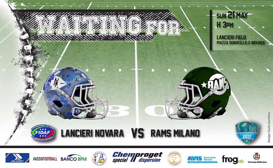 Lancieri Novara vs Rams Milano