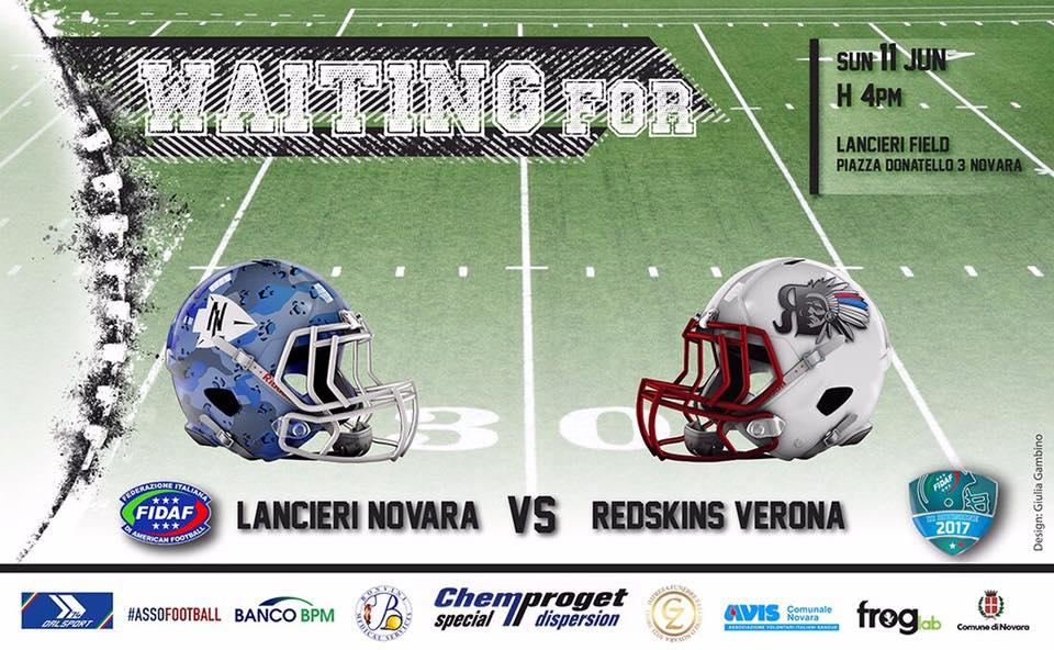 Lancieri Novara vs Redskins Verona
