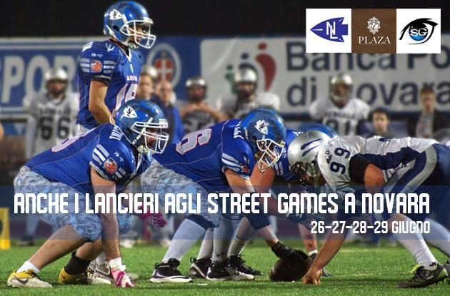 Anche i Lancieri agli Street Games a Novara