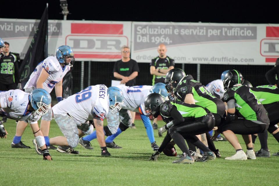 I Lancieri Novara infilzano i Bears Alessandria